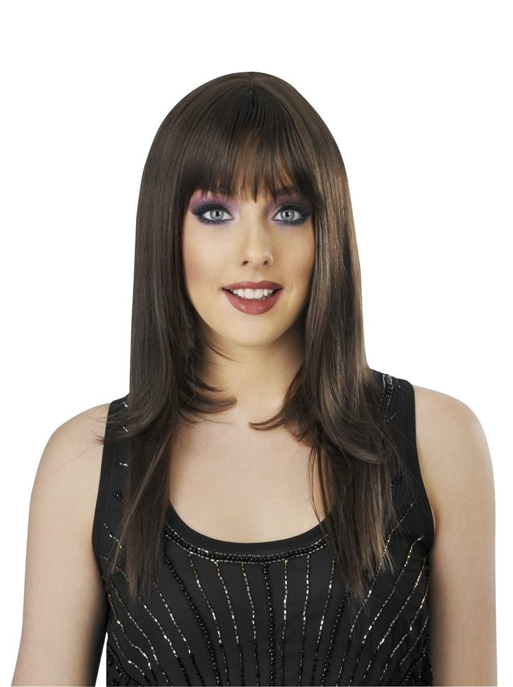 Picture of Brown International Bombshell Deluxe Wig