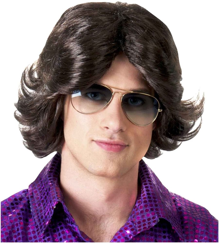 Picture of 70s Feathered Man Wig