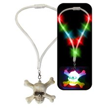 Picture of Light-Up Skull Necklace