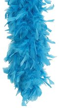 Picture of Turquoise Feather Boa 6ft