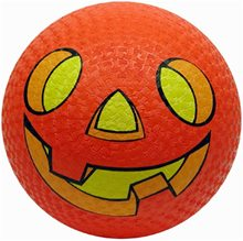 Picture of Pumpkin Bouncing Ball 8.5in