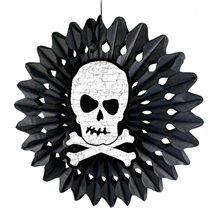 Picture of Hanging Skull Tissue Fan