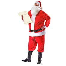 Picture of Complete Santa Claus Adult Mens Costume