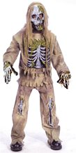 Picture of Skeleton Zombie Child Costume