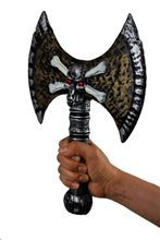 Picture of Skull Double Axe 13.5in
