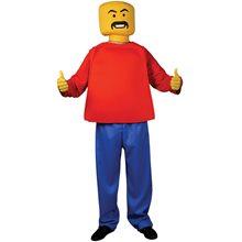 Picture of Mr. Blockhead Adult Mens Costume