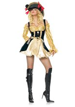 Picture of Marauder Pirate Wench Adult Womens Costume