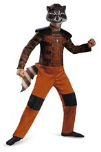 Picture of Guardians of the Galaxy Rocket Raccoon Child Costume