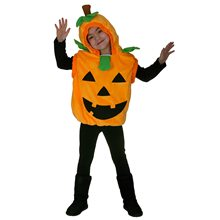 Picture of Pumpkin Vest Toddler Costume