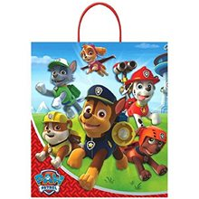 Picture of Paw Patrol Deluxe Plastic Loot Bag
