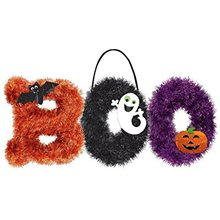 Picture of Halloween Boo Tinsel Decoration