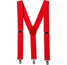 Picture of Red Wide Suspenders