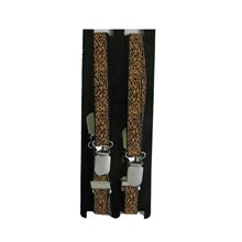 Picture of Skinny Leopard Suspenders