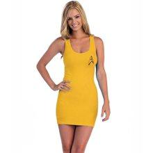 Picture of I Am Starfleet Gold Juniors Tank Dress