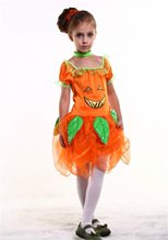 Picture of Light-Up Pumpkin Fairy Child Costume
