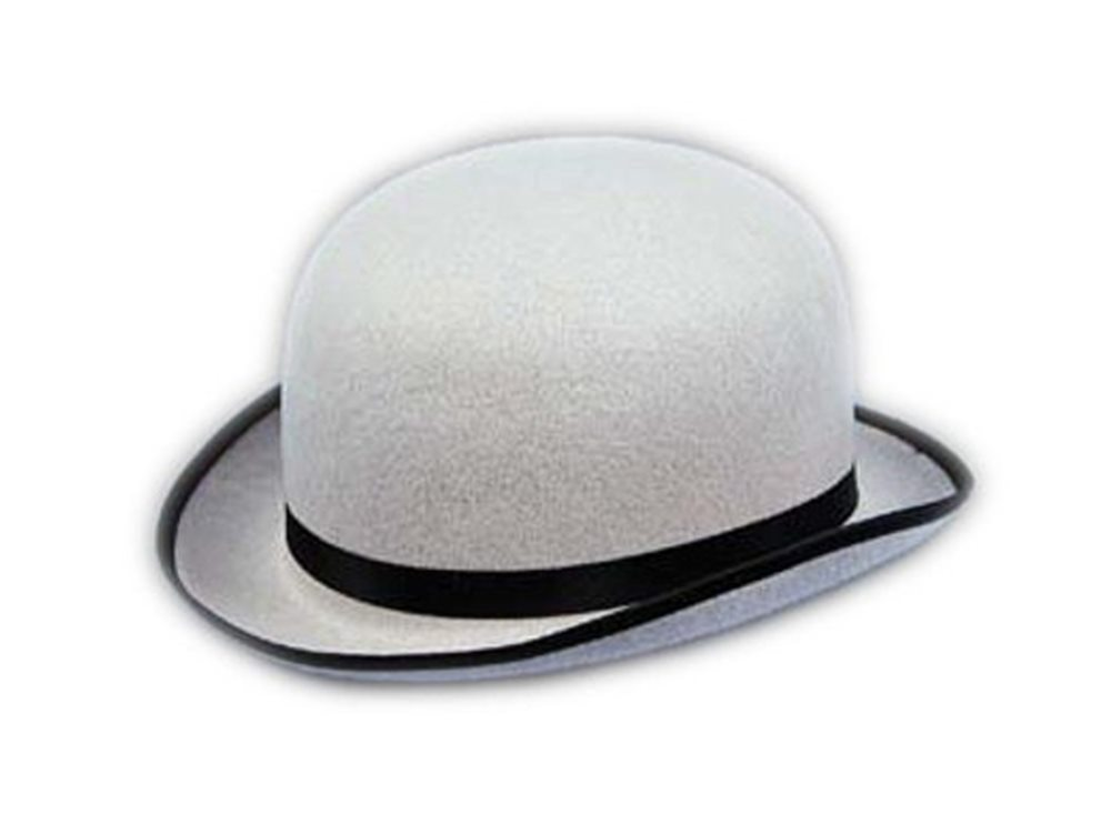 Picture of Deluxe Grey Derby Hat