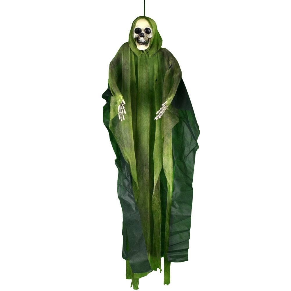 Picture of Hooded Hanging Skeleton 35in (More Colors)