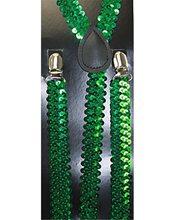 Picture of Green Sequin Suspenders