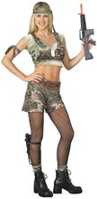 Picture of Hot GI Jill Adult Womens Costume