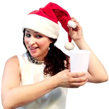Picture of Santa Hat Flask