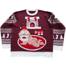Picture of Santa Baby Adult Ugly Christmas Sweater