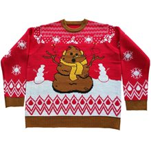 Picture of Crappy Holidays Adult Ugly Christmas Sweater