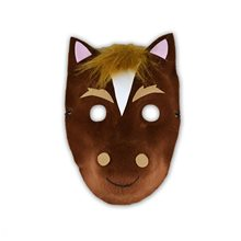 Picture of Brown Horse Mask