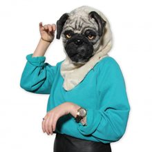 Picture of Mr. Pug Furry Mask