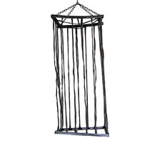 Picture of Life-Sized Black Cage Prop