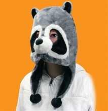 Picture of Raccoon Plush Mask