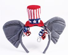 Picture of Republican Elephant Patriotic Headband