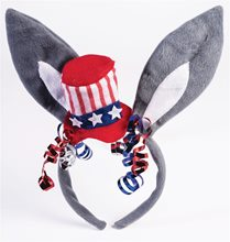 Picture of Democrat Donkey Patriotic Headband