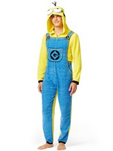 Picture of Despicable Men Minion Adult Mens Onesie with Hood