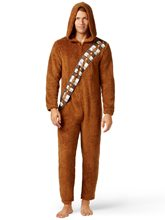 Picture of Star Wars Chewbacca Adult Mens Onesie with Hood