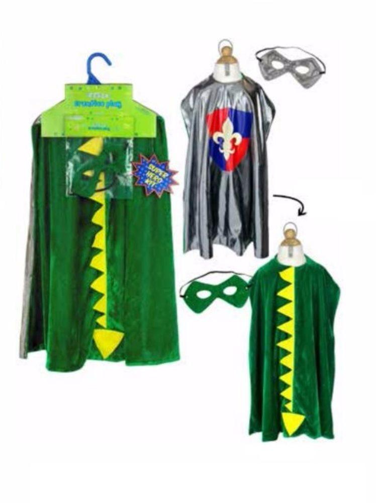 Picture of Reversible Dragon & Knight Child Superhero Kit