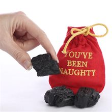 Picture of You've Been Naughty Bag of Coal