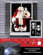 Picture of Virtual Christmas and Halloween Holiday Projector Kit