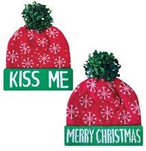 Picture of Christmas Mistletoe Kiss Me Beanie