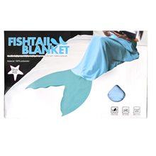 Picture of Aqua Mermaid Fin Adult Blanket
