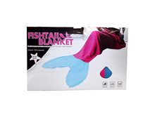 Picture of Pink & Blue Mermaid Fin Adult Blanket