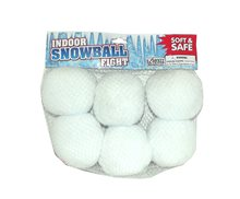 Picture of Indoor Snowball Fight Toy 6ct