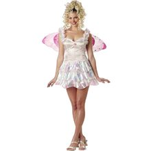 Picture of White Pixie Fairy Adult Womens Costume