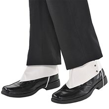Picture of Roaring 20s White Gangster Spats