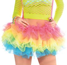Picture of Electric Party Tutu with Suspenders