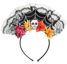 Picture of Day of the Dead Tiara Headband