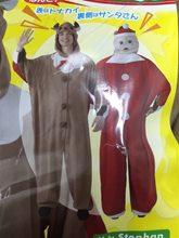 Picture of Reindeer & Santa Adult Unisex Onesie