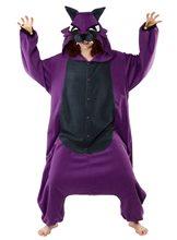 Picture of BCozy Purple Wolf Adult Unisex Onesie