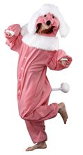 Picture of BCozy Pink Poodle Adult Unisex Onesie