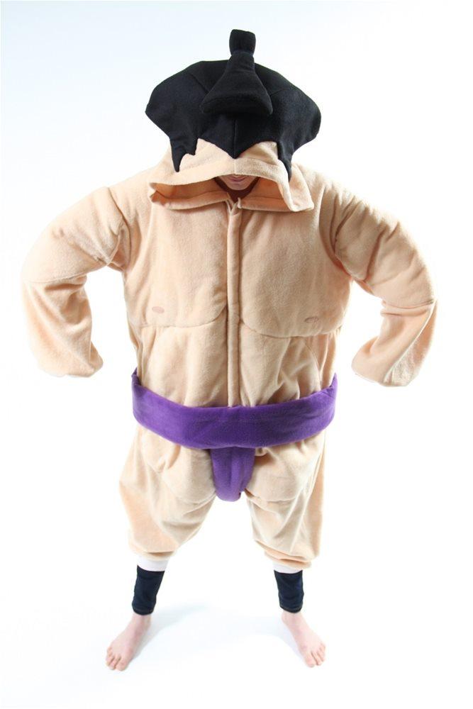 Picture of BCozy Sumo Wrestler Adult Unisex Onesie