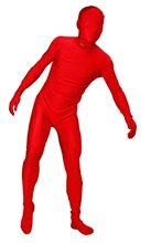 Picture of Red Adult Unisex Skin Suit